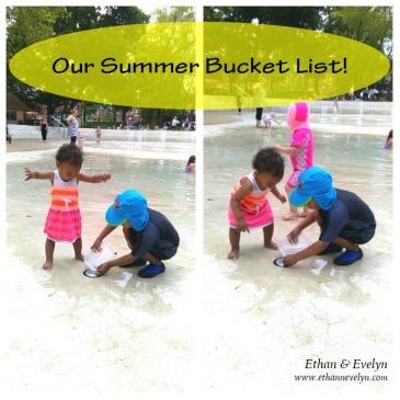 Our Summer Bucket List ethannevelyn.com