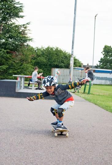 Skateboarding Phase King George Park ethannevelyn.com